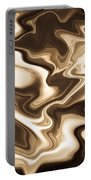 Abstract Pattern Art Portable Battery Charger