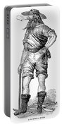 California Gold Rush, 1852 Portable Battery Charger