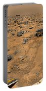 Panoramic View Of Mars Portable Battery Charger