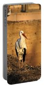 Storks In Marrakech Portable Battery Charger