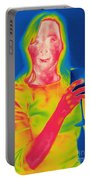 Thermogram Of A Woman Portable Battery Charger