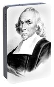 William Harvey, English Physician Portable Battery Charger