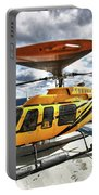 A Bell 407 Utility Helicopter Portable Battery Charger