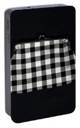 Black And White Portable Battery Charger