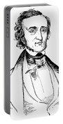Edgar Allan Poe (1809-1849) Portable Battery Charger