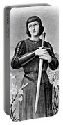Joan Of Arc, French National Heroine Portable Battery Charger