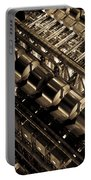 Lloyd's Building London Abstract  Portable Battery Charger