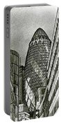 The Gherkin London Portable Battery Charger