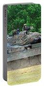 The Leopard 1a5 Main Battle Tank Portable Battery Charger by Luc De Jaeger