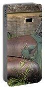 Vintage Farm Trucks Portable Battery Charger