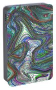 Abstract Art Portable Battery Charger