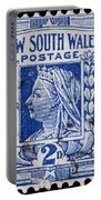 old Australian postage stamp Portable Battery Charger