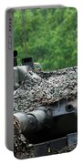 The Leopard 1a5 Main Battle Tank Portable Battery Charger by Luc De Jaeger