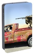 A Free Libyan Army Pickup Truck Portable Battery Charger