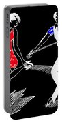 Art Deco Image Portable Battery Charger