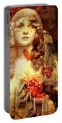 Winsome Woman Portable Battery Charger