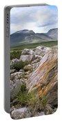 A Boulder Near Loch Garve Portable Battery Charger
