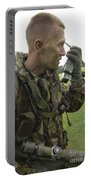 A British Army Soldier Radios Portable Battery Charger by Andrew Chittock