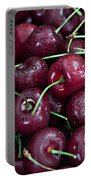 A Cherry Bunch Portable Battery Charger