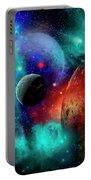 A Colorful Part Of Our Galaxy Portable Battery Charger