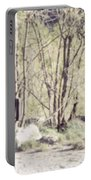 A Couple In The Woods Portable Battery Charger