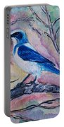 A Fine Feathered Friend Portable Battery Charger