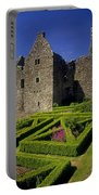 A Garden In Front Of Tully Castle Near Portable Battery Charger