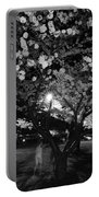 A Ghost In The Cherry Blossoms Portable Battery Charger
