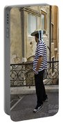 A Gondolier In Venice Portable Battery Charger
