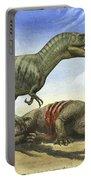 A Gorgosaurus Libratus Stands Portable Battery Charger