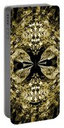 A Gothic Guise Of Gold Portable Battery Charger