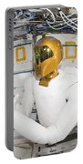 A Humanoid Robot In The Destiny Portable Battery Charger by Stocktrek Images