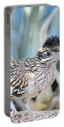 A Juvenile Greater Roadrunner  Portable Battery Charger