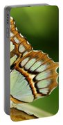 A Malachite Butterfly Portable Battery Charger