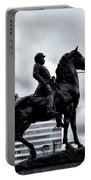 A Man A Horse And A City Portable Battery Charger