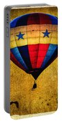 A Man And His Balloon Portable Battery Charger by Bob Orsillo