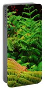 A Mass Of Ferns Portable Battery Charger