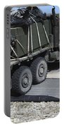 A Medium Tactical Vehicle Replenishment Portable Battery Charger