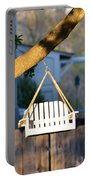 A Place To Perch Portable Battery Charger by Nikki Marie Smith