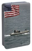 A Rigid Hull Inflatable Boat Portable Battery Charger