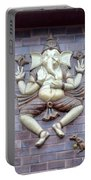 A Sculpture Of The Hindu God Ganesha Portable Battery Charger