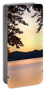 A Soothing Sunset Portable Battery Charger