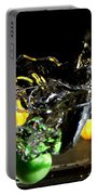 A Splash In The Glass Portable Battery Charger
