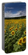A Sunny Sunflower Day Portable Battery Charger