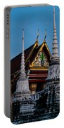 A Temple In A Wat Monestry In Tahiland Portable Battery Charger