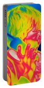 A Thermogram Of A Boy Talking Portable Battery Charger