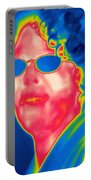 A Thermogram Of A Woman With Glasses Portable Battery Charger
