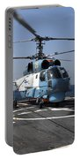 A Ukrainian Navy Ka-27 Helix Helicopter Portable Battery Charger