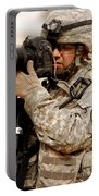 A U.s. Air Force Combat Cameraman Portable Battery Charger by Stocktrek Images