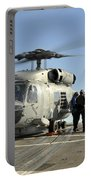 A U.s. Navy Sh-60b Seahawk Helicopter Portable Battery Charger